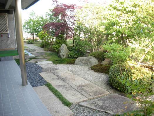 仙台市青葉区 K様邸 伊予青石の庭|竜門園