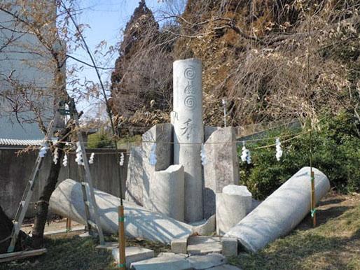 仙台市青葉区 青葉神社・鳥居復旧工事|竜門園