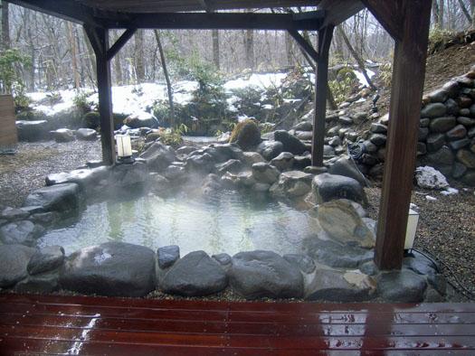 宮城県蔵王町 露天風呂|竜門園