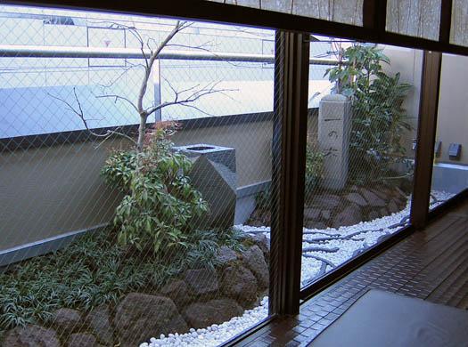 仙台市青葉区 「一の木」 坪庭_1|竜門園
