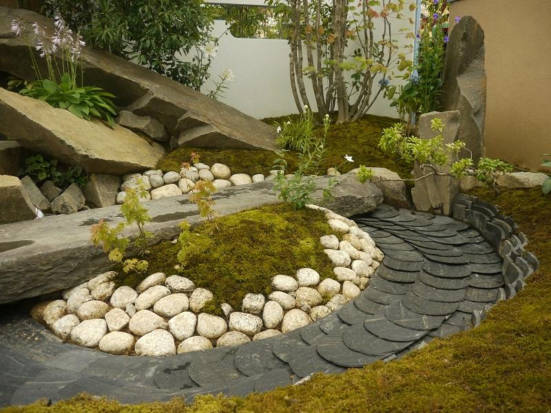 東日本ハウスグループ 全日本フラワー&ガーデン選手権 アーティザンガーデン部門(職人の技術と粋を集めた庭)銀賞_7|竜門園