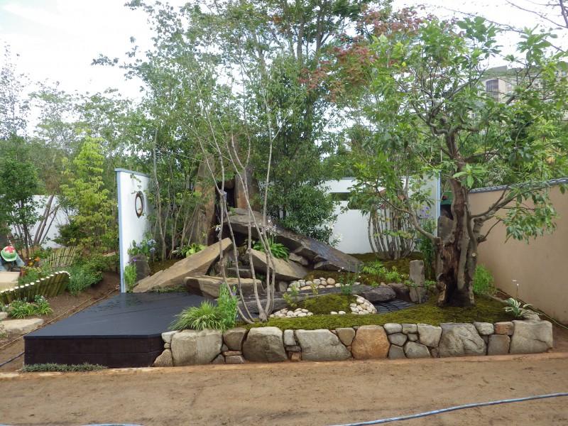 東日本ハウスグループ 全日本フラワー&ガーデン選手権 アーティザンガーデン部門(職人の技術と粋を集めた庭)銀賞|竜門園