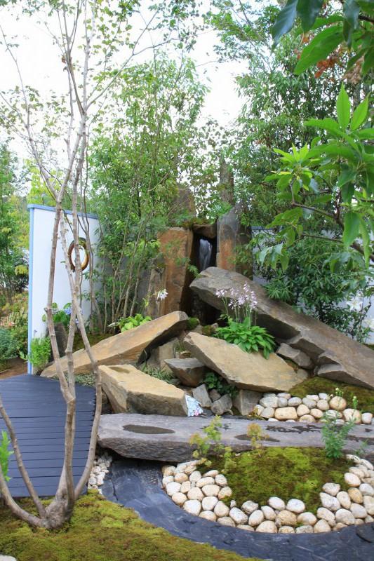 東日本ハウスグループ 全日本フラワー&ガーデン選手権 アーティザンガーデン部門(職人の技術と粋を集めた庭)銀賞_10|竜門園