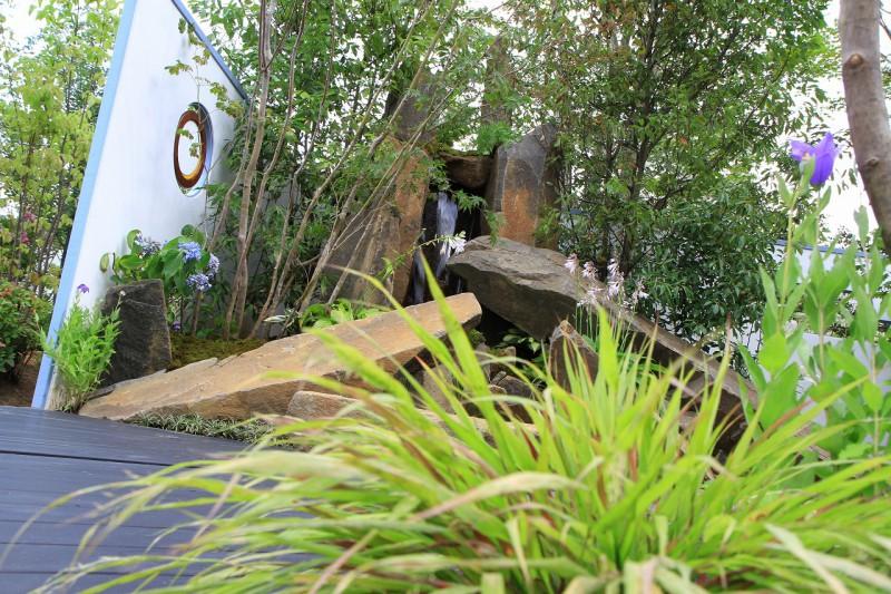 東日本ハウスグループ 全日本フラワー&ガーデン選手権 アーティザンガーデン部門(職人の技術と粋を集めた庭)銀賞_3|竜門園
