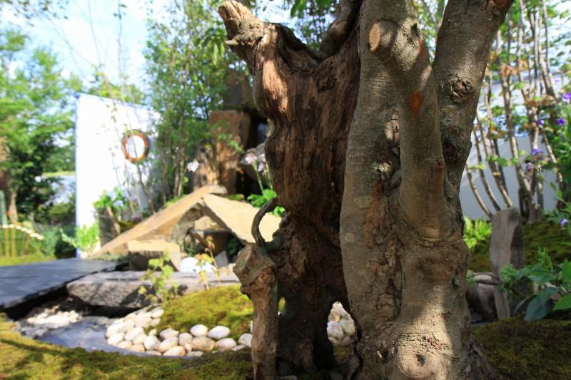 東日本ハウスグループ 全日本フラワー&ガーデン選手権 アーティザンガーデン部門(職人の技術と粋を集めた庭)銀賞_6|竜門園