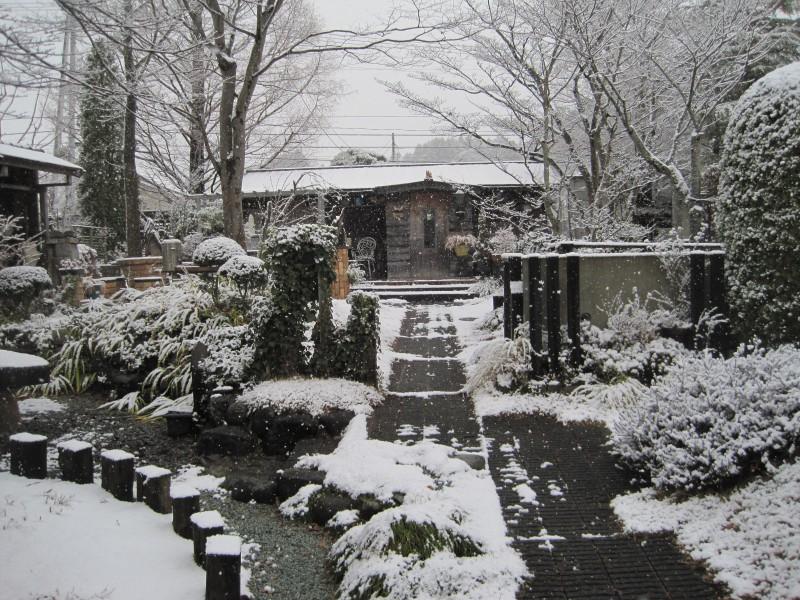 雪化粧|竜門園
