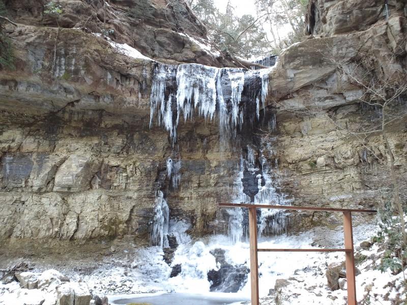 凍れる滝|竜門園
