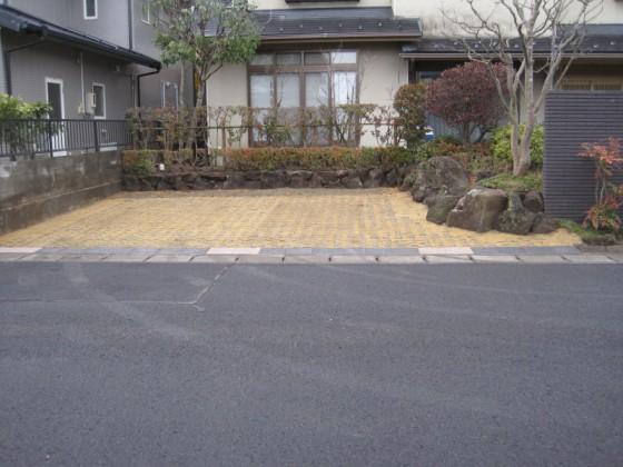 駐車場拡幅工事 完了|竜門園