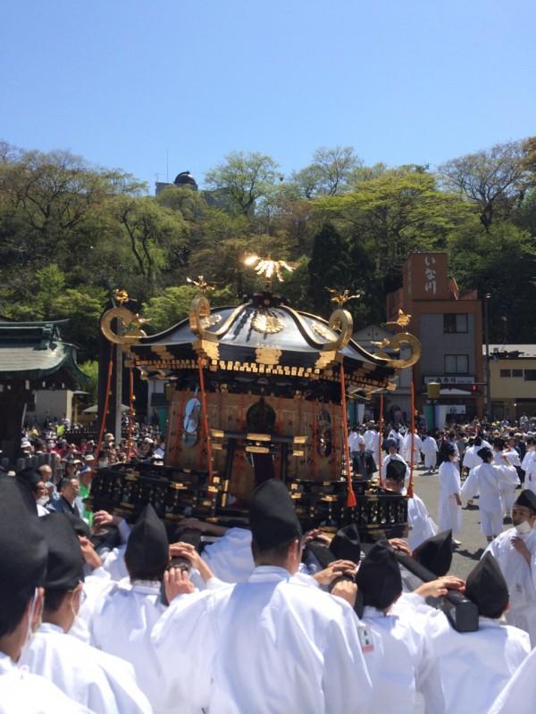 塩竈花祭り初参戦!|竜門園