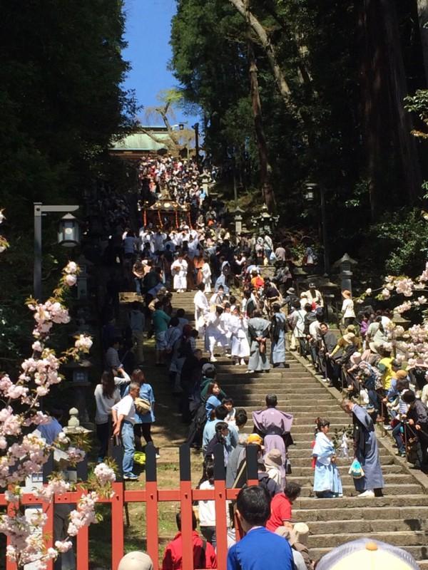 塩竈花祭り初参戦!_1|竜門園
