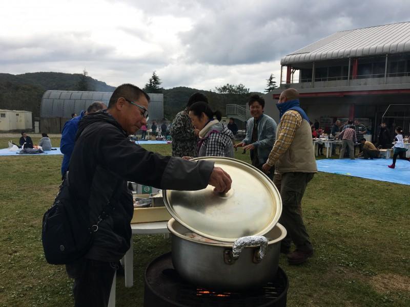 安全大会&芋煮会_1|竜門園